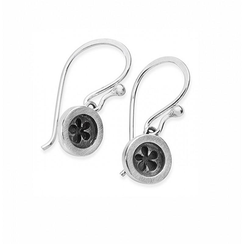 Button Earrings - DBUFS