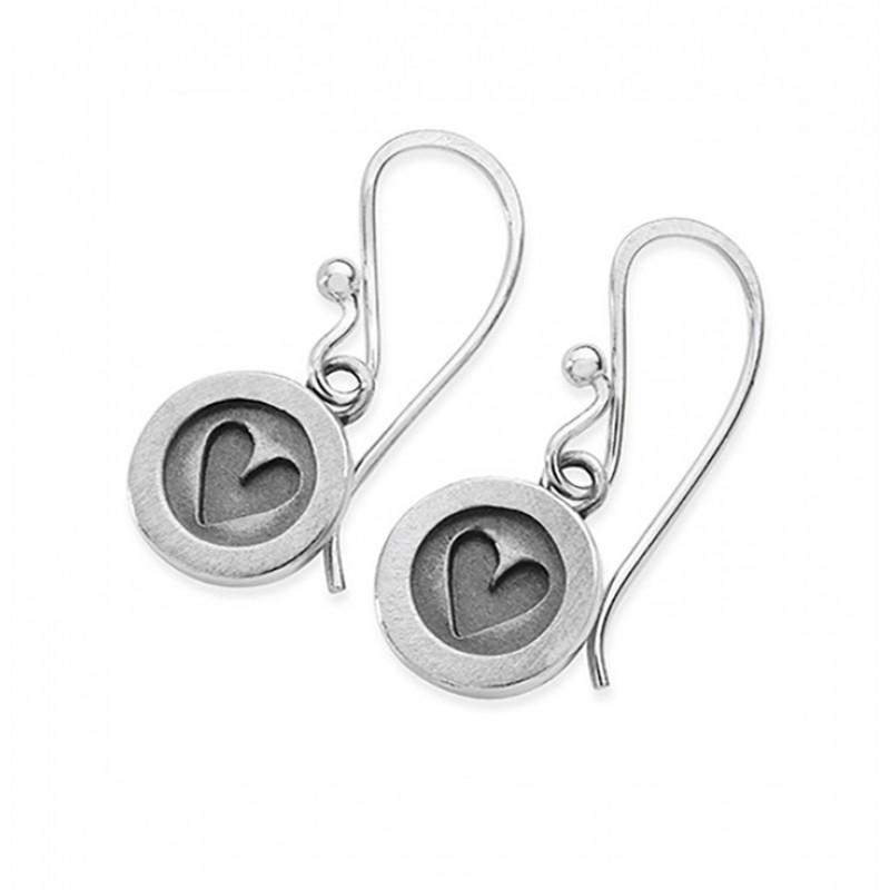 Button Earrings - DBUH