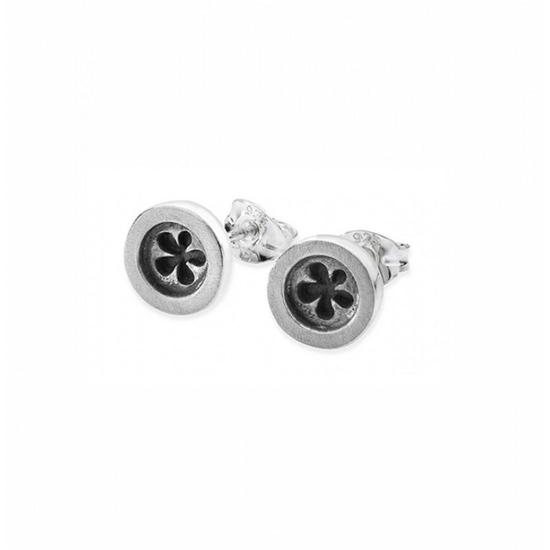 Button Earrings - SBUF