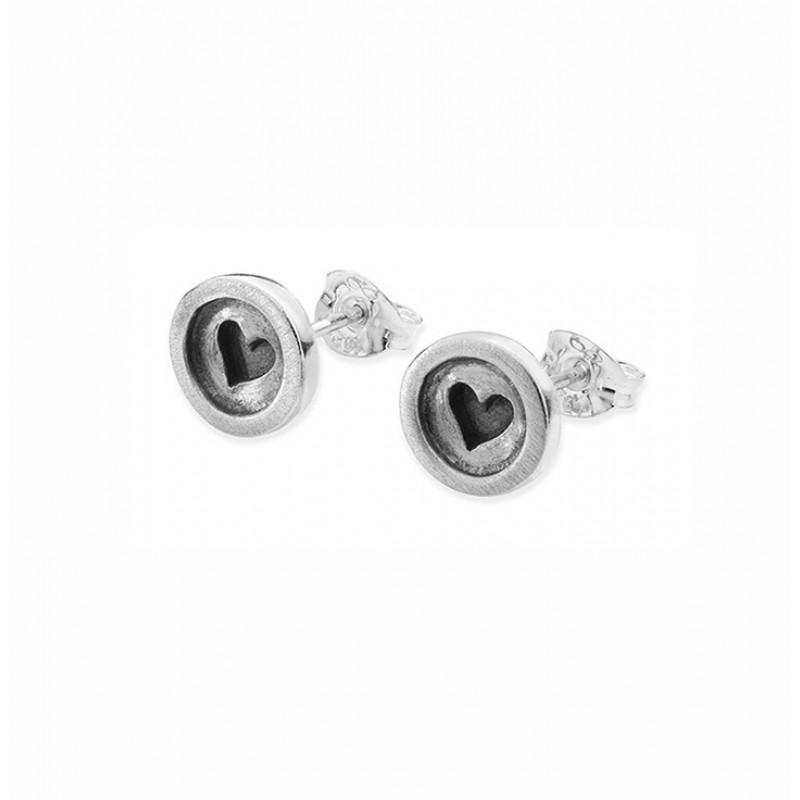 Button Earrings - SBUH