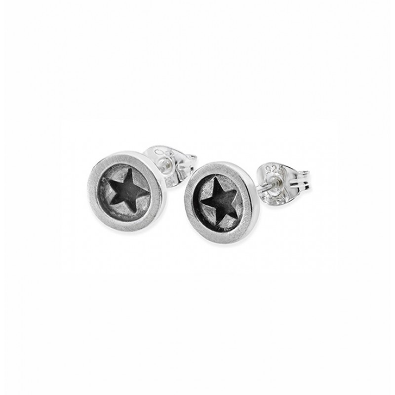 Button Earrings - SBUS