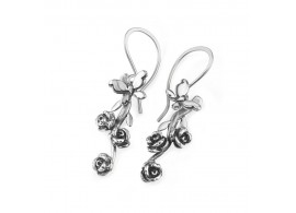 Rose Garden - Drop Earrings DRGBL