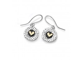 Spots and Stripes -  Drop Earrings DSPOTRH