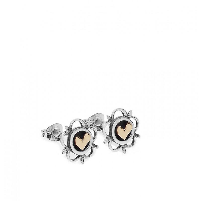 Vintage Heart Earrings - SVR7