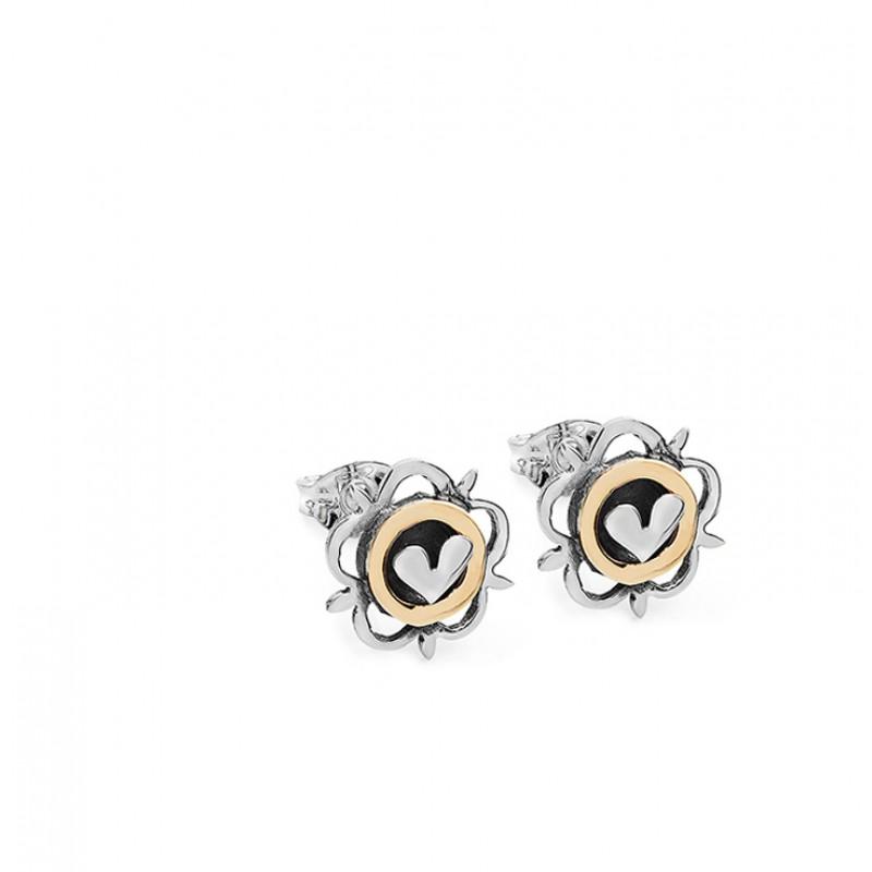 Vintage Heart Earrings SVR7G