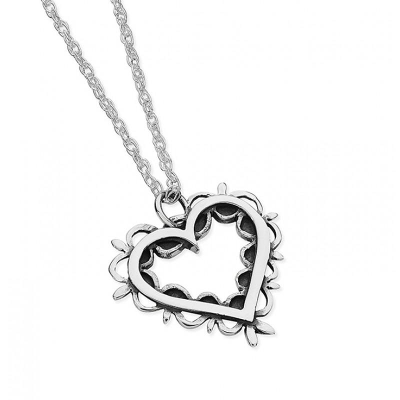 Vintage Heart Necklace - EVR5