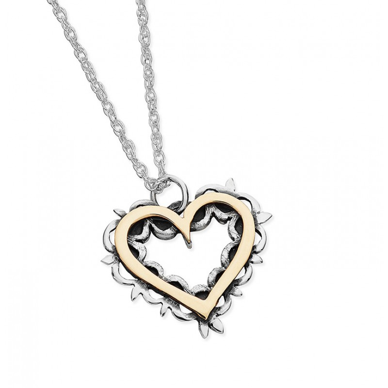 Vintage Heart Necklace - EVR5G