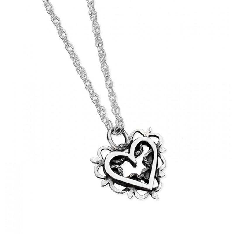 Vintage Heart Necklace - EVR6