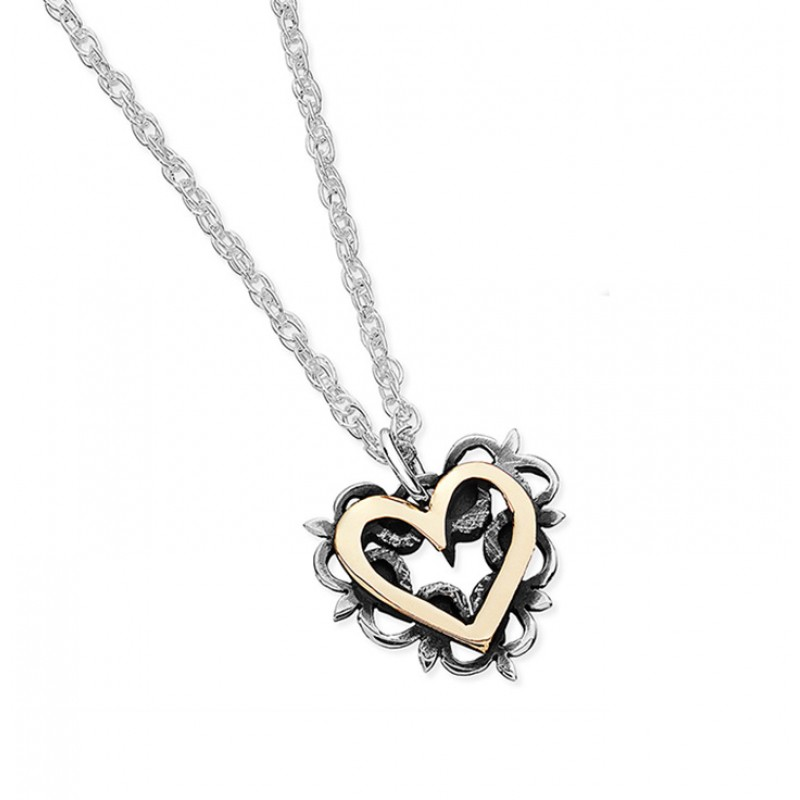 Vintage Heart Necklace - EVR6G