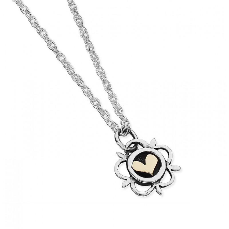 Vintage Heart Necklace - EVR7