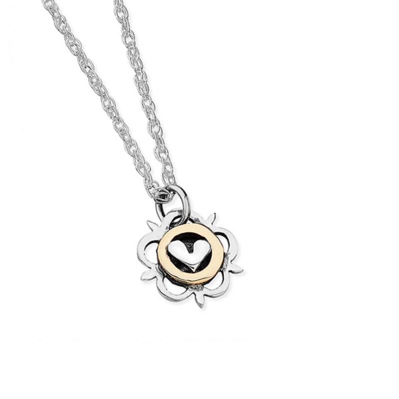 Vintage Heart Necklace - EVR7G